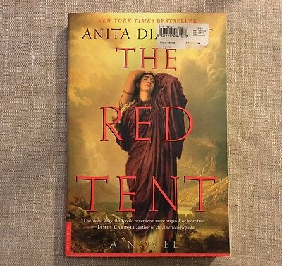 The Red Tent New York Times Best Seller Paperback Book By Anita Diamant