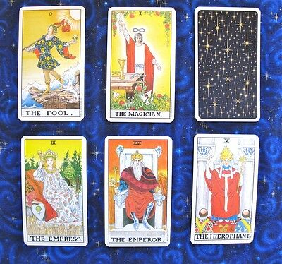 Universal Waite Tarot tarot single replacement card U.S. Games 1990