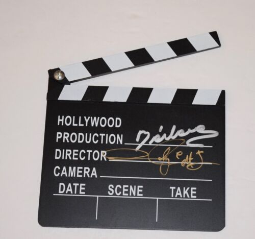 Andres Andy Muschietti & Barbara Signed Director's Clapboard IT Chapter Two COA