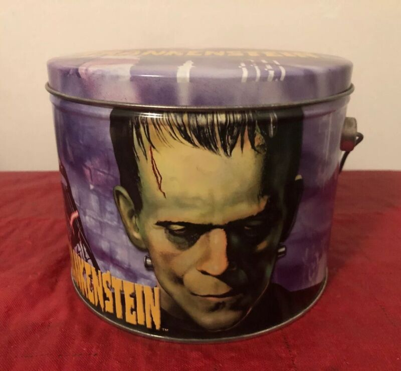 UNIVERSAL MONSTERS FRANKENSTEIN LIMITED EDITION TIN CONTAINER Halloween Horror