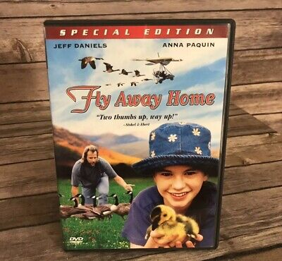 Fly Away Home (DVD, 2006, Special Edition) Jeff Daniels Anna Paquin 1996 Film ()