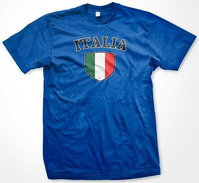 Country Flags T-shirt - Italia Italy Italian Country Crest Flag Colors Ethnic Pride Men's T-shirt