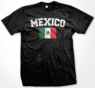 Country Flags T-shirt - Mexico Flag Mexican Country Colors Ethnic Pride National Pride -Men's T-shirt