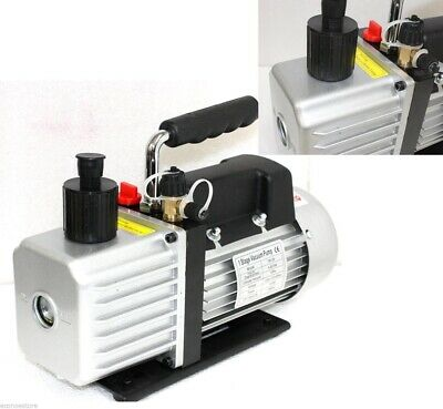 3 Cfm Rotary Vane Vacuum Pump 14hp Refrigerant Hvac R134a R410a R22