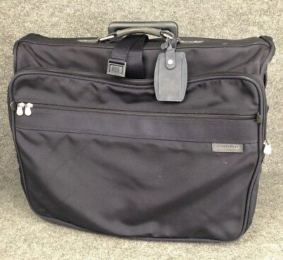 Briggs and Riley 24x22 Deluxe Rolling Wheeled Garment Wardrobe Bag  In EUC