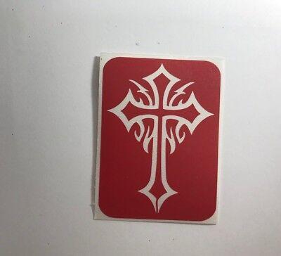 Variation Celtic Shield knot keltic cross wicca biker tattoo iron on patch A1178