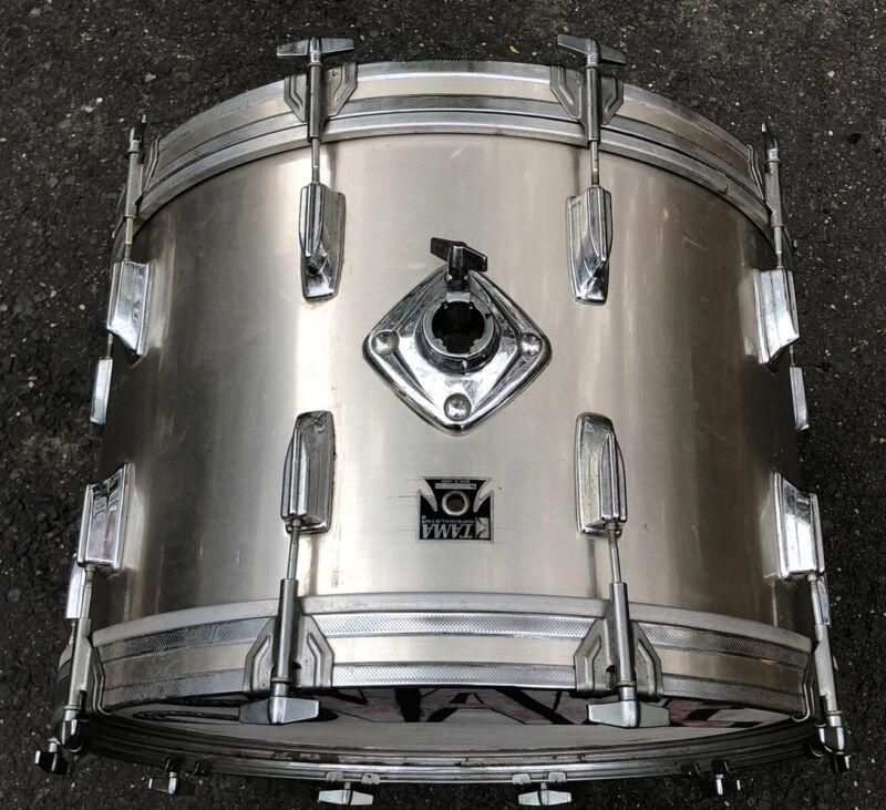 "Tama Imperialstar 22 X 14"" Silver Bass Drum Japan MIJ"