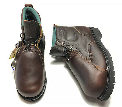 Iron Age Boots Mens Size 9 M New In Box ANSI Steel Toe EH USA Met Guard Vibram