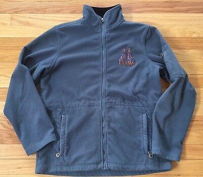 Danbury Mint Fleece Mini Doberman Pinscher Dogs Jacket Embroidered Women's Sz S