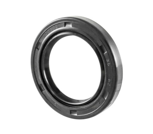 EAI Metric Oil Shaft Seal 35X52X7mm Dust Grease Seal TC Double Lip w/ Spring