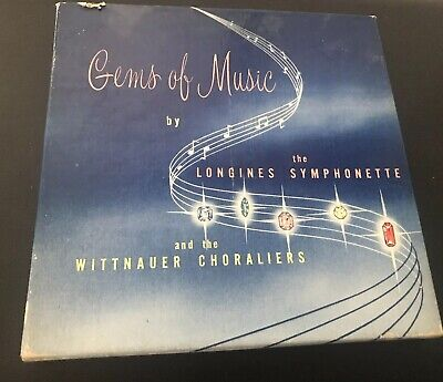Gems Of Music By Longines Symphonette And The Wittnauer Choraliers  Limited Ed.