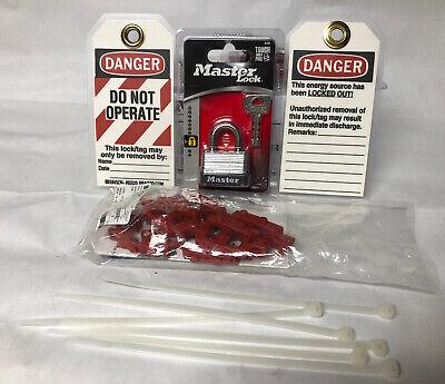6 - Single Pole Circuit Breaker Lock Out Kits