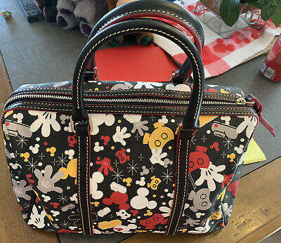 Dooney & Bourke Disney Mickey Mouse Body Parts I Am Satchel Brand New No Tags