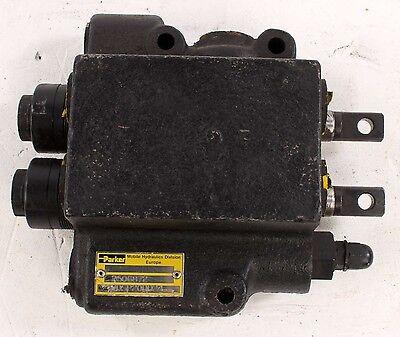 New Vdsp20dd24 Parker 2 Spool Hydraulic Valve