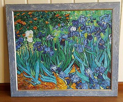 """""""Schwertlilien"""", in Ungarn liebevoll kopierter Vincent van  Gogh,Expressionismus"""