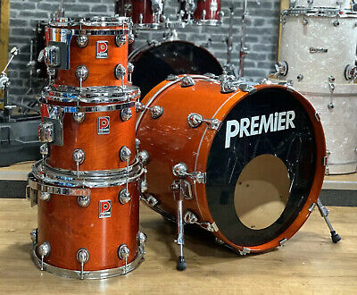 Premier Genista 4 Piece Drum Shell Pack #114