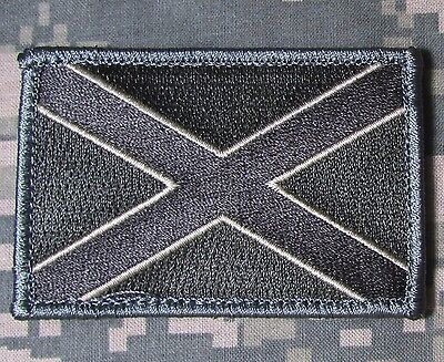 ALABAMA STATE FLAG ACU DARK USA ARMY VELCRO® BRAND FASTENER MORALE PATCH