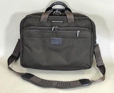 Briggs & Riley KBC303-Brown-12x16x7.3 15.4-Inch Executive Clamshell Briefcase