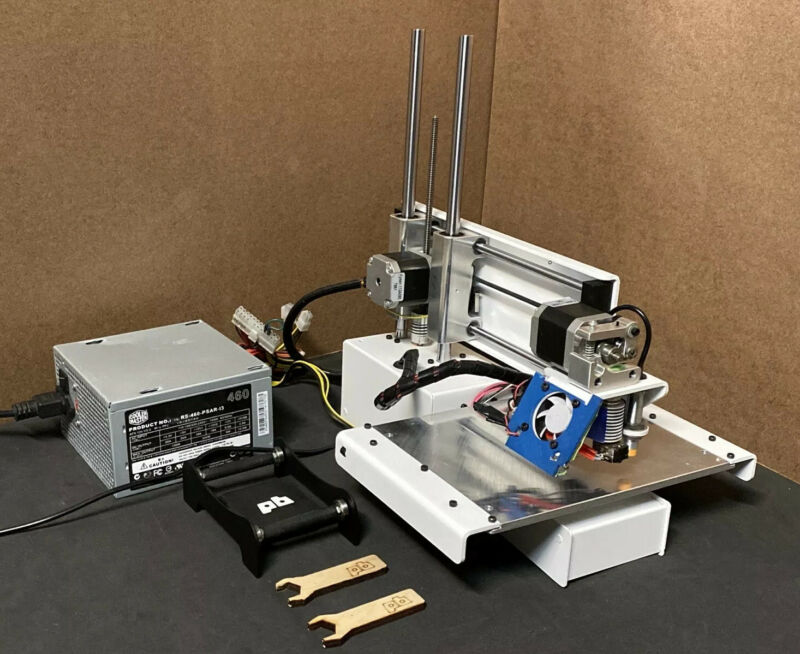 Printrbot UPGRADED Simple Metal 3D Printer  PBMSASM Super Z-Heated Bed-LED Ender