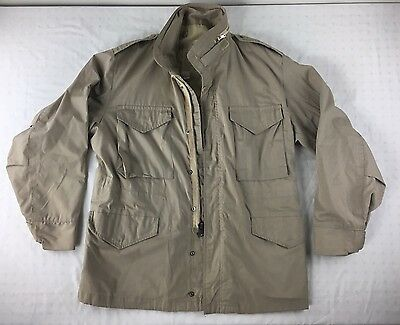 VINTAGE 50s 60s COAT MANS FIELD JACKET MILITARY ARMY NAVY WPL 10881