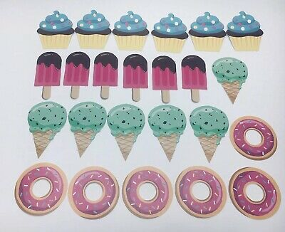 Big Dot of Happiness Sweet Shoppe, Shaped Candy and Bakery Cutouts 24 Pack C25 C