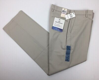 NWT Dockers Best Pressed Classic Fit Mens 32x34 Flat Front
