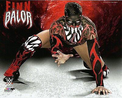 WWE PHOTO FINN BALOR WRESTLING OFFICIAL 8x10 PROMO THE DEMON PRINCE DEVITT
