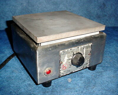 Thermolyne Hp-a1915b Type 1900 Laboratory 6x 6 Hot Plate 120 Volt 750 Watts