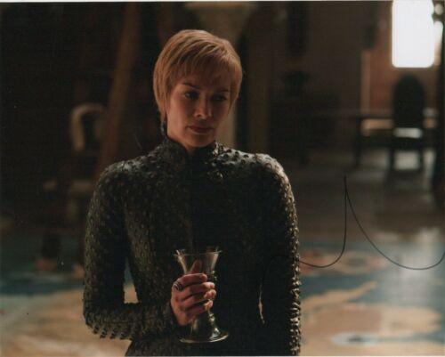Lena Headey Game of Thrones Autographed Signed 8x10 Photo COA EF707