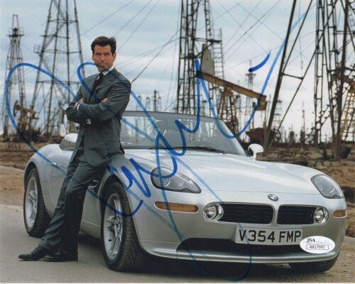 Pierce Brosnan Goldeneye Autographed Signed 8x10 Photo JSA COA #5