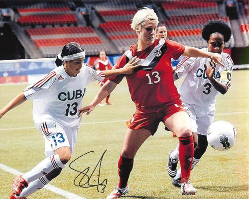 Sophie Schmidt Signed London 2012 Olympics 8x10 Photo EXACT PROOF Tokyo Gold C
