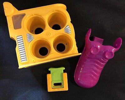 Yellow Purple & Lime Green PLAY DOH Mega Fun Factory Replacement Plunger - Play Doh Mega Fun Factory