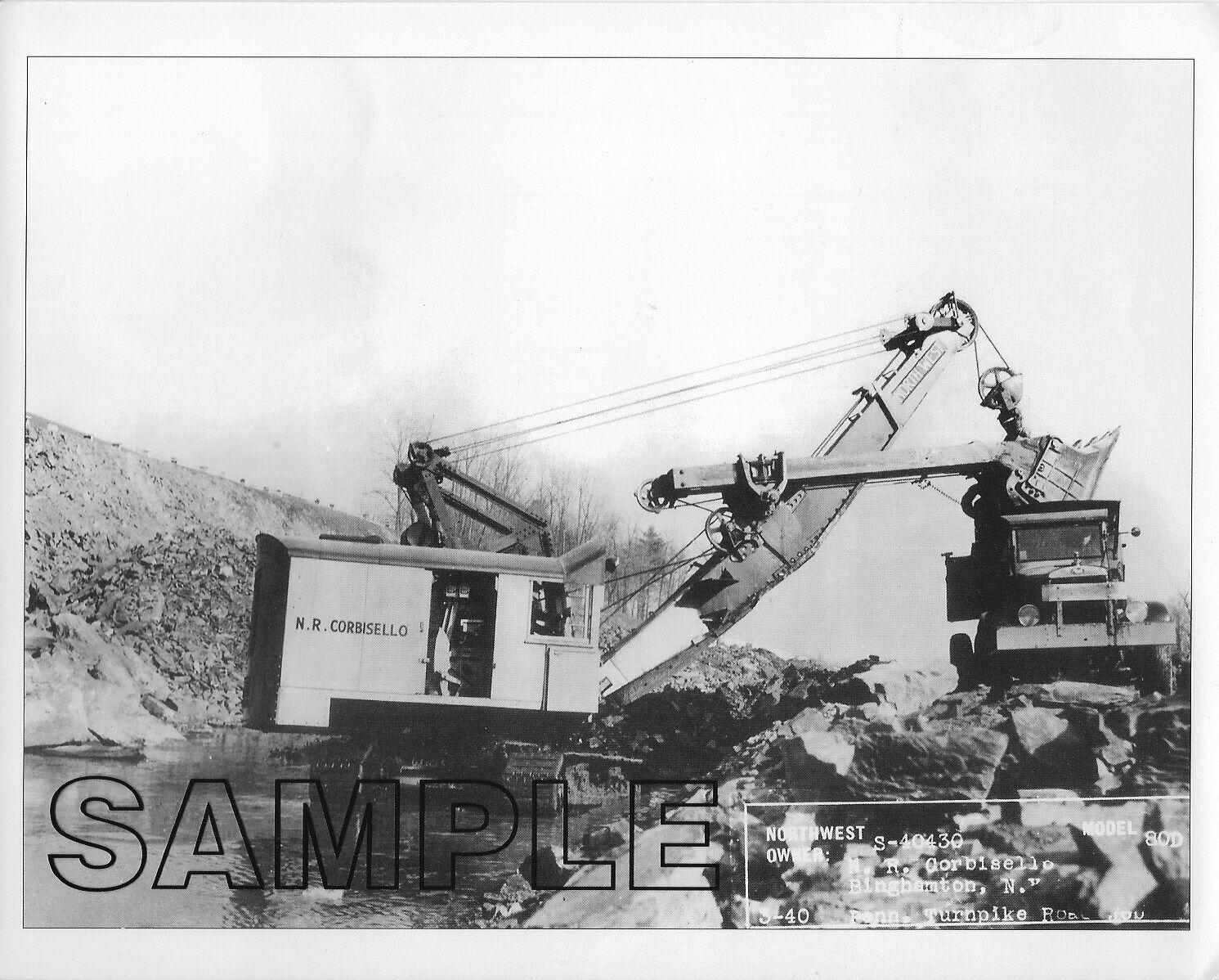 1940 NORTHWEST 80D & MACK F Series, N R CORBISELLO, Inc Binghamton, NY B&W Photo