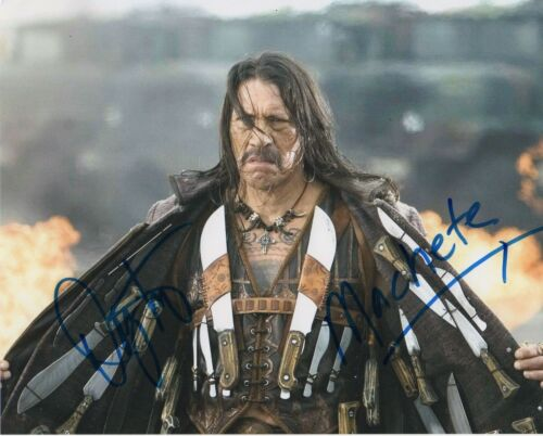 Danny Trejo Machete Autographed Signed 8x10 Photo COA 2019-2