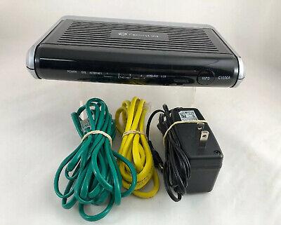 CenturyLink Actiontec C1000A VDSL2 DSL 4-Port WiFi Router Modem * Fast Ship * B2