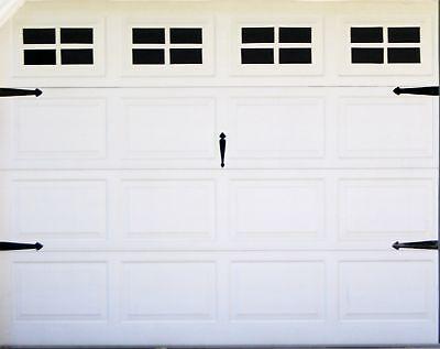 FAKE WINDOWS FOR YOUR GARAGE DOOR CARRIAGE HOUSE STYLE for standard single door