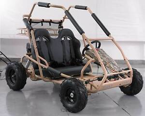 Crossfire Go Kart 200 - Buggy 200cc 2 Seater CVT Fully Auto in CAMO Prestons Liverpool Area Preview