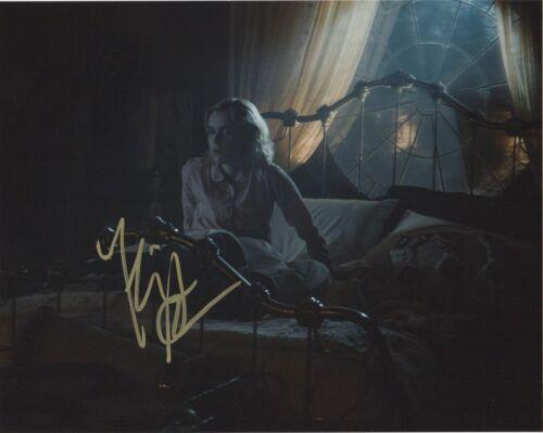 Kiernan Shipka Chilling Adventures Sabrina Autographed Signed 8x10 Photo COA Q3F