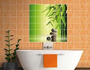 sticker carrelage mural faience d co cuisine ou salle de bain galets r f 821 ebay. Black Bedroom Furniture Sets. Home Design Ideas