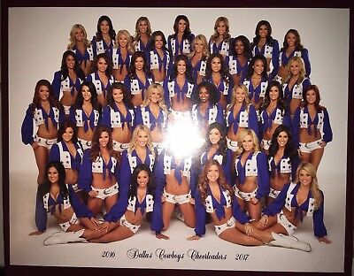 Dallas Cheerleaders Hot (OFFICIAL 2016-2017 DALLAS COWBOYS CHEERLEADERS Pic Picture Photo DCC Hot)
