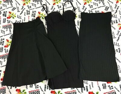 womens juniors dress lot size small / xs black hot sexy office party casual  Junior Casual Kleider
