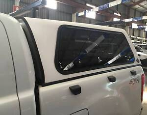 FORD RANGER MAZDA BT50 DUAL CAB FLEXIGLASS CANOPY + HD ROOF RACKS Yagoona Bankstown Area Preview