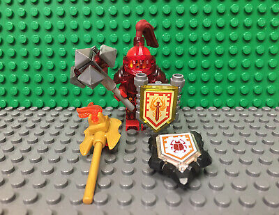 Lego Nexo Knights Ultimate Macy Minifigure From Set 70331 with Accessories