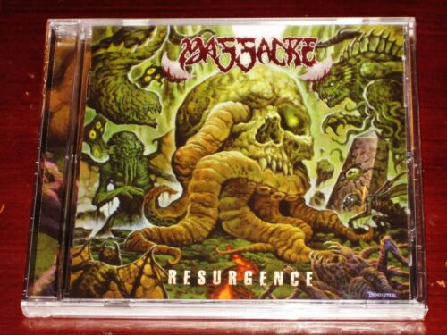 Massacre: Resurgence CD 2021 Nuclear Blast Records USA NB 5910-2 Jewel Case NEW