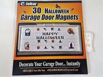 Jobar- 30 Halloween Garage Door Magnets Decoration