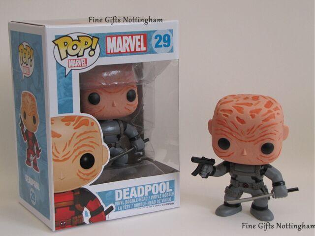 """Funko Pop Vinyl """"Deadpool X-Force Unmasked"""" - Marvel Pop Vinyl #29"""