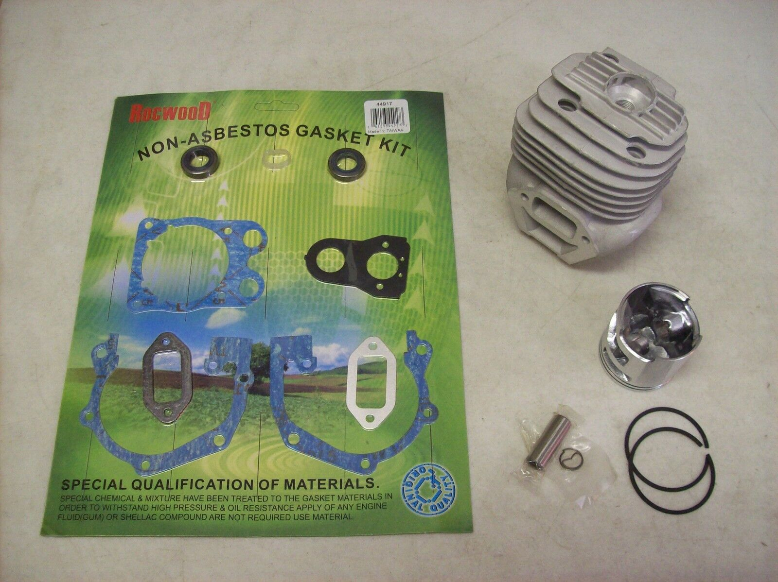 Husqvarna K760 / K750 Cutoff Saw Cylinder And Piston Rebuild Kit W/ Gaskets