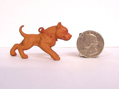 Hood Hounds Red Nose Pit Bull Pitbull Dog 1.5 Diorama Figurine Figure Homies