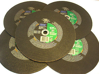 10 Norton 12 Gas Saw Masonry Cut Off Wheel Blade 89351 20mm Grinding Chop Miter