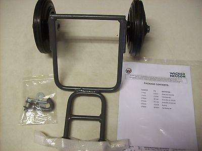 Wacker Vp1135a Vp1340 Vp1550 Vp2050 Plate Compactor Tamper Wheel Kit Pre- 16